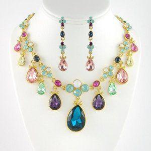 Beautiful Multi Stone Necklace